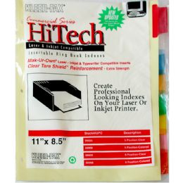 90 of Keer Fax 8 Clear Tab Dividers