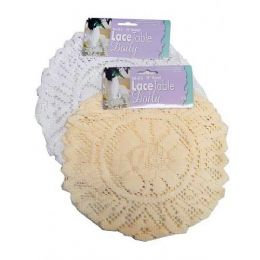 72 of Round Lace Doily (set Of 3)