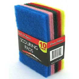 60 of MultI-Colored Scouring Pads