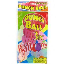 72 of Punch Balls Value Pack (set Of 3)
