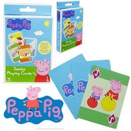 48 of Nickelodeon's Peppa Pig Jumbo Playing Cards.