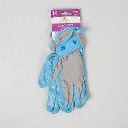 42 of Gloves Womens Long Cuff Grip Med Multi Purp Spndx Bck