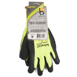72 of Small Insulated Thermal Knit Green Glove