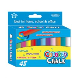 48 of Forty Eight Count Colored Chalks
