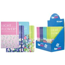 48 of Notebook Flower Pattern Assorted Color