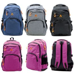 12 of Backpack Assorted Colors