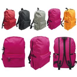 24 of Backpack Assorted Colors