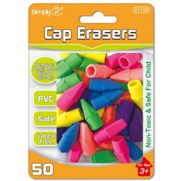 96 of Fifty Count Cap Eraser