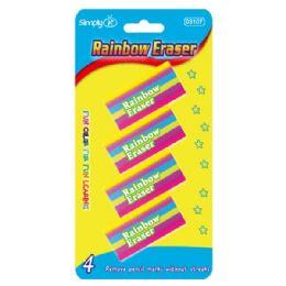 144 of Four Piece Rainbow Eraser