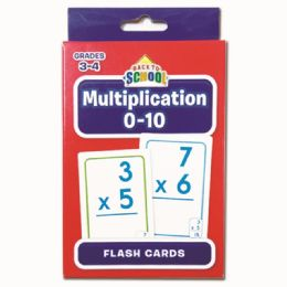 96 of Multiplication Flash Cards