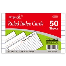108 of Ruled Index Cards