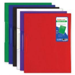 144 of Swing Lock Report Cover Letter Size Assorted Color