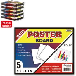 96 of Poster Board White
