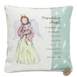 46 of 10x10 Friendship Angel Pillow