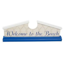 48 of Welcome Sign 18 X 6.5 Wooden Welcome To The Beach
