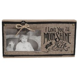 36 of Moonshine Wooden Photo Clip 12.75 6.75