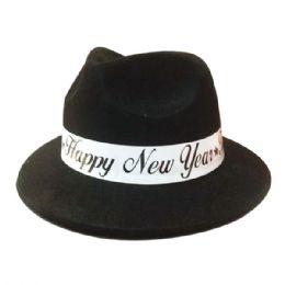 144 of Happy New Year Hat Black