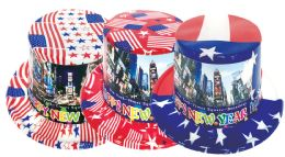 72 of New Year American Hat