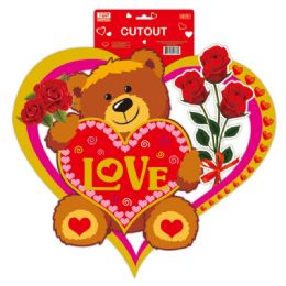 """96 of 18"""" V-Day 3d Cutout"""