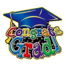"""96 of 17""""graduate 3d Cutout"""
