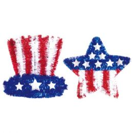 108 of July 4 Tinsel Decoration