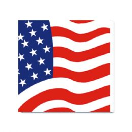 96 of 20 Count 2 Ply Napkin Flag