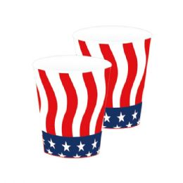 120 of 8 Count Paper Cup Flag