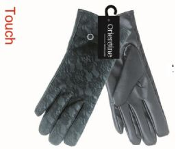 48 of Lady's Touch Gloves Man Made Leather
