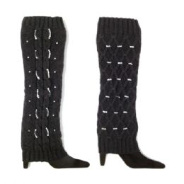 48 of Leg Warmer Black