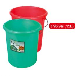 36 of 15l Plastic Bucket