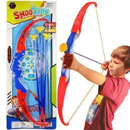 48 of 4 Piece Blue Archery Sets.