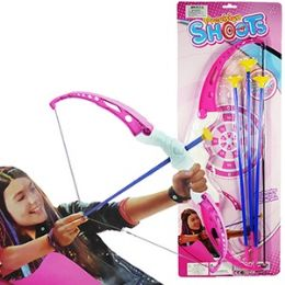48 of 4 Piece Pink Archery Sets