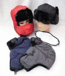 36 of Mens Winter Pilot Hat Assorted