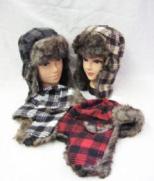 36 of Winter Plaid Pilot Hat