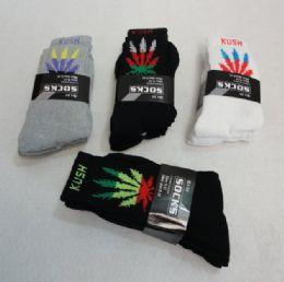 120 of Men's Marijuana Crew Socks 9-11