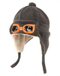 24 of Kids Winter Aviator Trooper Hat W/sherpa Lining