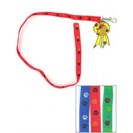 72 of Dog Leash With Paw Print Design