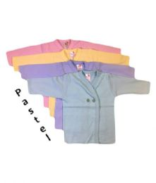 36 of Strawberry Infant Long Sleeve Shirt In Assorted Pastel Colors