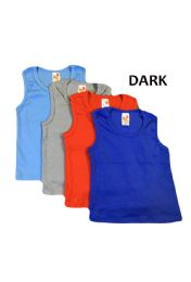 36 of Strawberry Boys Infant Tank Top In Dark Colors