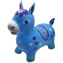 12 of Inflatable Jumping Blue Horse