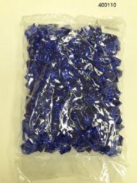 36 of Plastic Decoration Stones In Dark Blue