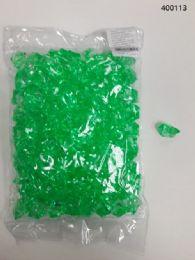 36 of Plastic Decoration Stones In Light Green