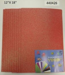 24 of Eva Foam With Glitter 12x18 10 Sheets In Coral