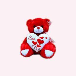"15"" Musical Red Bear"