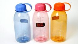 24 of Plastic Water Bottle - 28 Oz, 8-1/4""