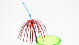 72 of Drinking Straw, Flexible, Palm Tree