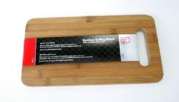 """12 of Bamboo Cutting Board 7-3/4 X 14"""""""