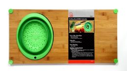 """6 of Cutting Board With Colander 12 X 24"""""""
