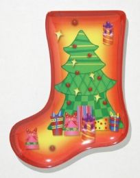 24 of Plate, Stocking ShapeD- Tree, 9-1/2""