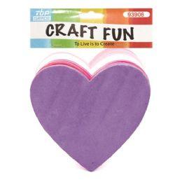 60 of Thirty Count Eva Foam Heart Craft Fun